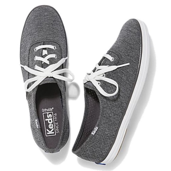 9d0f25e21 New Keds Classic Champion in Perforated Jersey